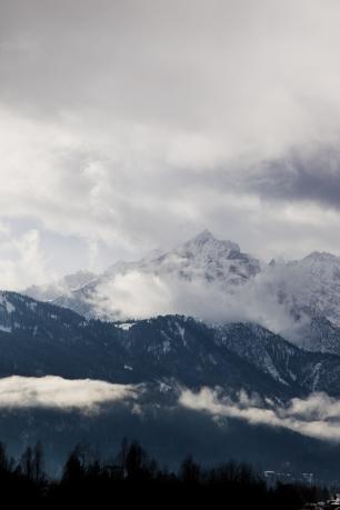 Blick auf die Alpspitze