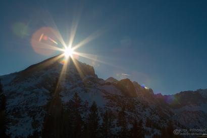 Alpspitze und Sonne :-)